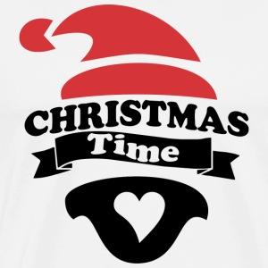 christmas time - Men's Premium T-Shirt