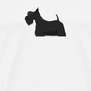 Scottish Terrier - Men's Premium T-Shirt