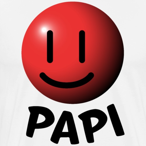 White Papi Shirt - Men's Premium T-Shirt