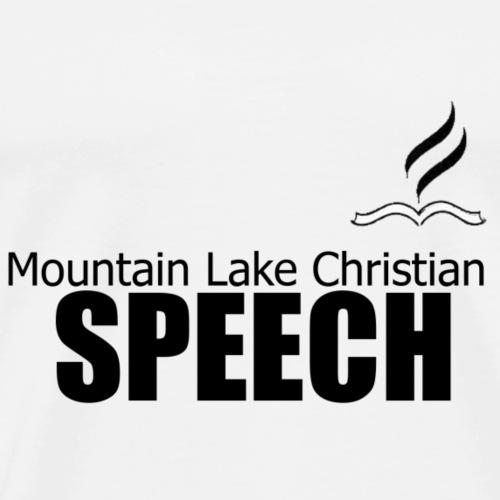 Speech - Men's Premium T-Shirt