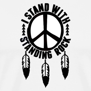 I_Stand_With_Standing_Rock - Men's Premium T-Shirt