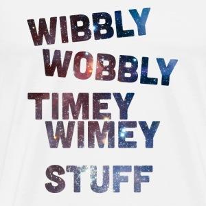 Wibbly Wobbly Timey Wimey Stuff - Men's Premium T-Shirt