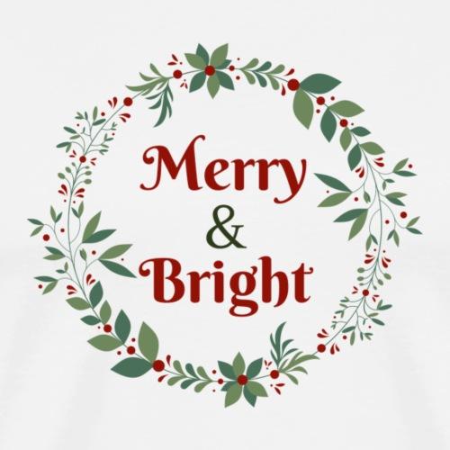 Merry & Bright - Men's Premium T-Shirt