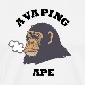 A VAPING APE - Men's Premium T-Shirt