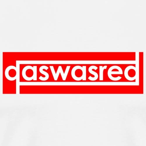 qaswasred red box logo - Men's Premium T-Shirt
