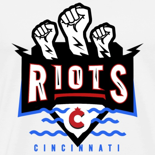 Cincinatti Riots - Men's Premium T-Shirt