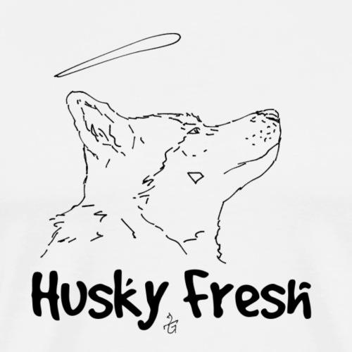 Dog Shirt | Husky Fresh 4th - Men's Premium T-Shirt