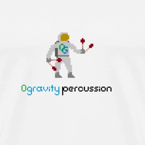 0gravity pixelnaut 2 - Men's Premium T-Shirt