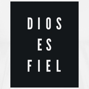 Dios Es Fiel - God is Faithful - Men's Premium T-Shirt