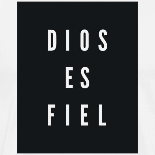 Dios Es Fiel - God is Faithful - Men's Premium T-Shirt
