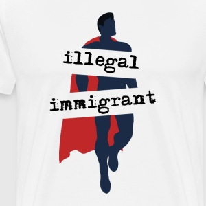 Super-Immigrant - Men's Premium T-Shirt