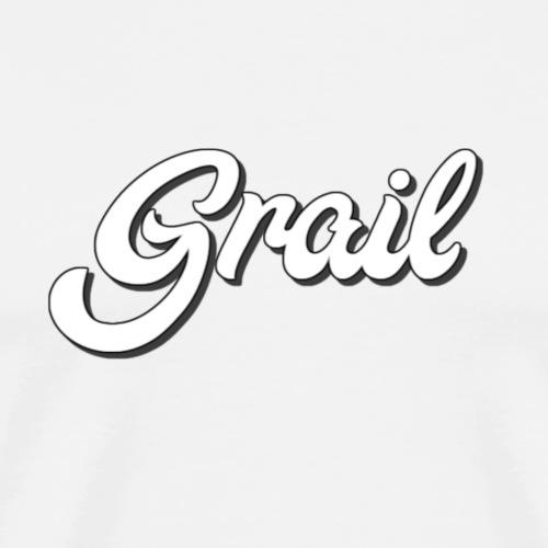 Cursive Grail - Men's Premium T-Shirt