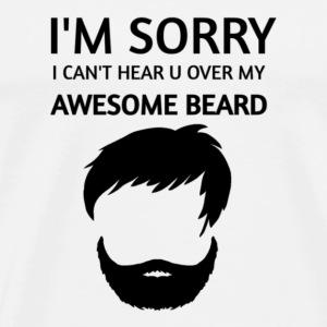 BEARDS LOVERS ATTITUDE - Men's Premium T-Shirt