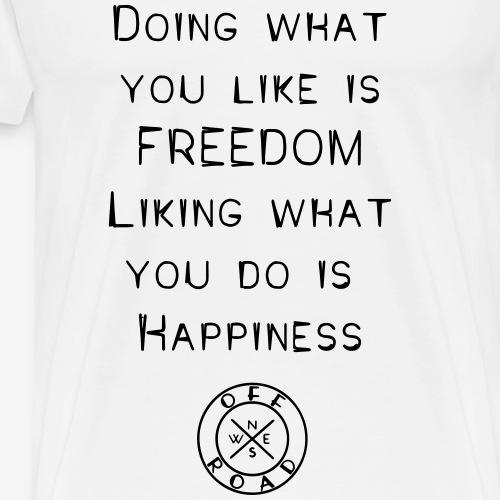 freedom-happiness - Men's Premium T-Shirt