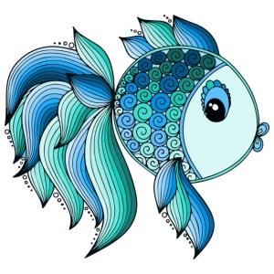 Blue Fish - Men's Premium T-Shirt