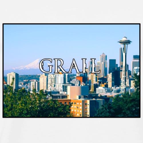Grail logo - Men's Premium T-Shirt