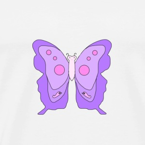 Purple Butterfly - Men's Premium T-Shirt