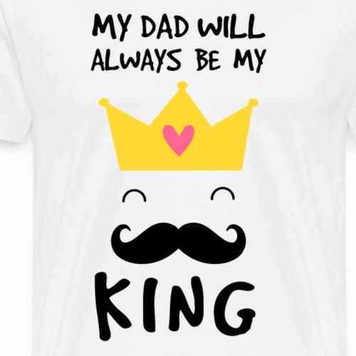 Dad King T-Shirt - Men's Premium T-Shirt