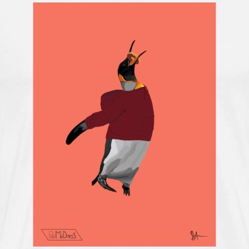 Hoodie Penguin - Men's Premium T-Shirt