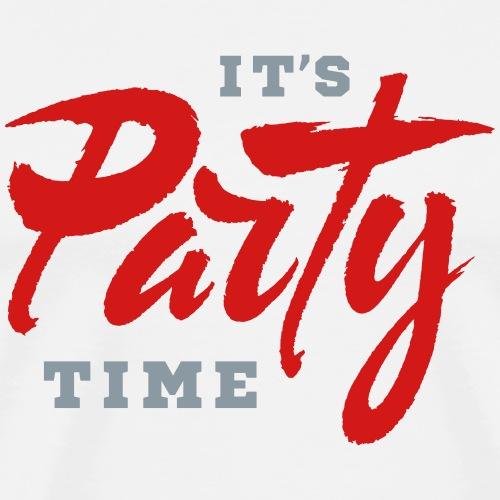It's Party Time - Men's Premium T-Shirt