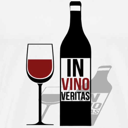 In Vino Veritas - Men's Premium T-Shirt