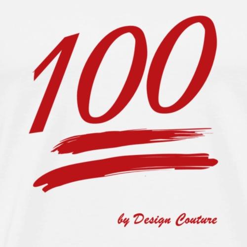 100 RED - Men's Premium T-Shirt