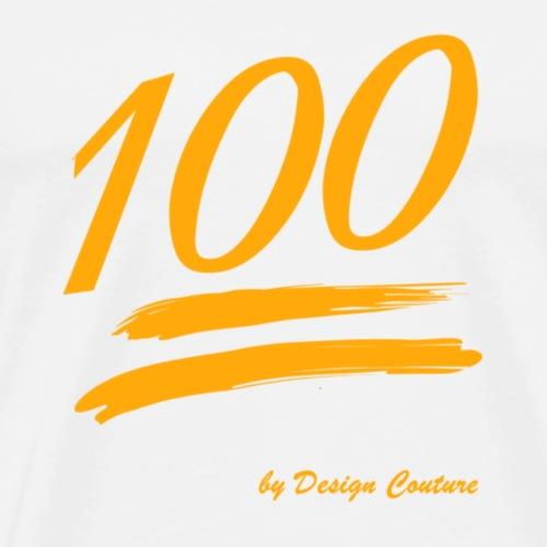 100 ORANGE - Men's Premium T-Shirt