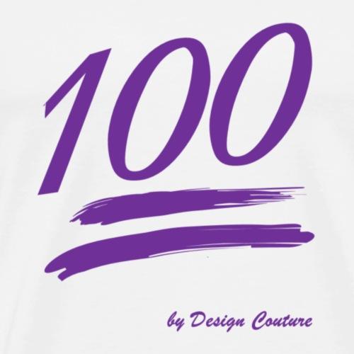 100 PURPLE - Men's Premium T-Shirt