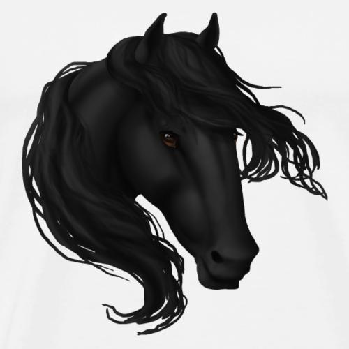 Black Horse - Men's Premium T-Shirt