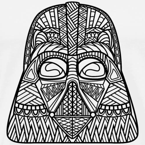 Darth Vader Zentangle - Men's Premium T-Shirt