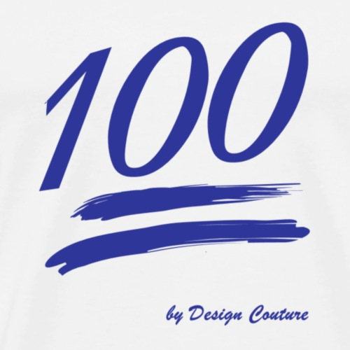 100 BLUE - Men's Premium T-Shirt