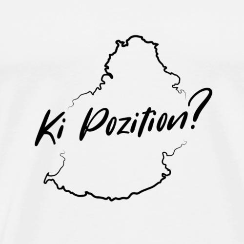 Ki Position? - Black - Men's Premium T-Shirt