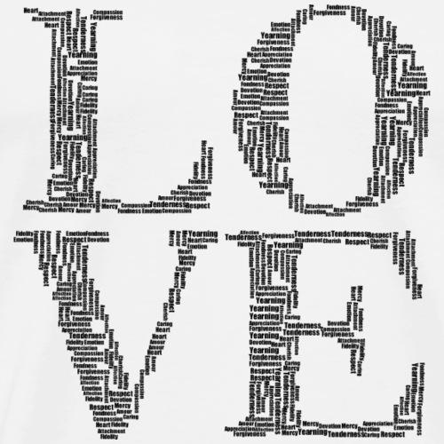 Love Blocks - Men's Premium T-Shirt