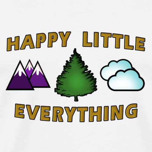 Happy Little Everything - Men's Premium T-Shirt