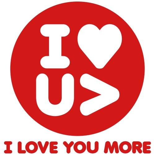 I love you more! - Men's Premium T-Shirt