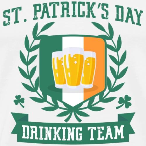 St. Patrick's day Drinking Team - Men's Premium T-Shirt