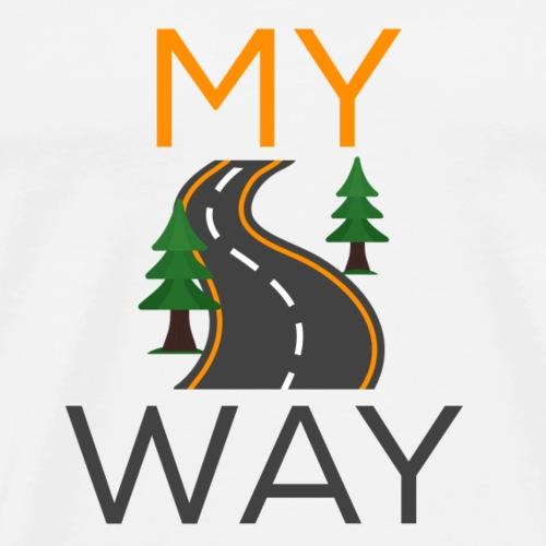 My Way Logo - Men's Premium T-Shirt