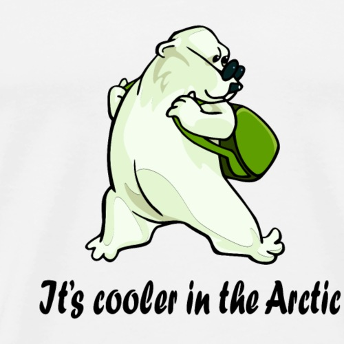 Cooler In The Arctic - Men's Premium T-Shirt