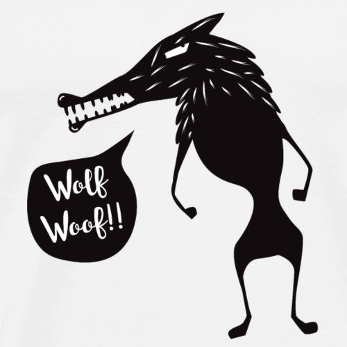 Wolf Woof - Men's Premium T-Shirt