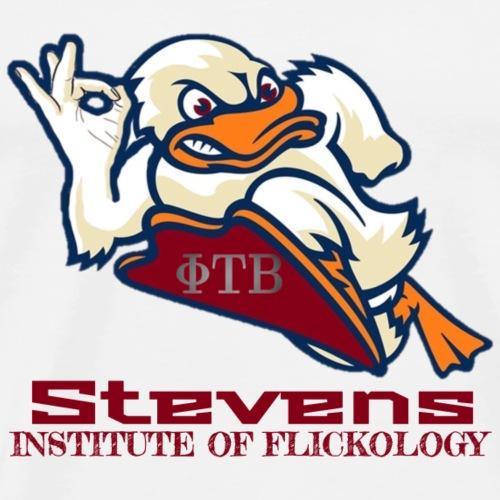 Stevens Flickology - Men's Premium T-Shirt
