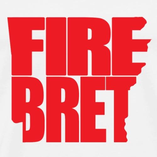 Fire Bret Red - Men's Premium T-Shirt