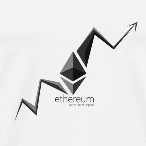 Invest Ethereum Hodl Repeat - Men's Premium T-Shirt