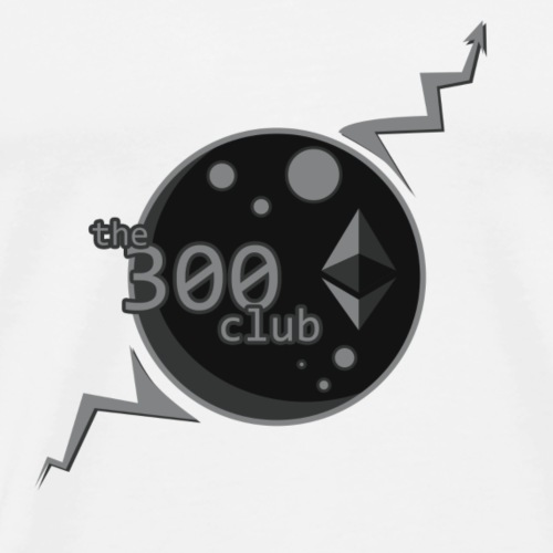 Ethereum - The 300 Club - Men's Premium T-Shirt