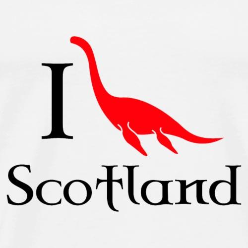 I heart scotland - Men's Premium T-Shirt