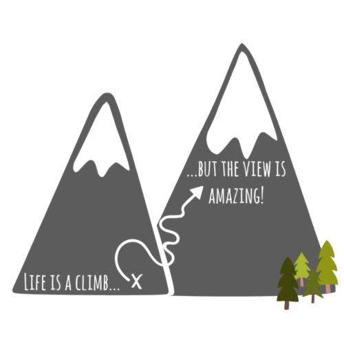 Life is a Climb - Men's Premium T-Shirt