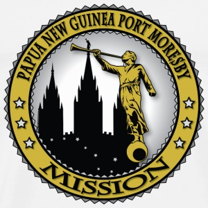 Papua New Guinea Port Moresby Mission - LDS - Men's Premium T-Shirt