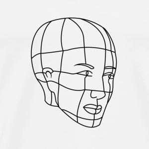 Portrait - Men's Premium T-Shirt
