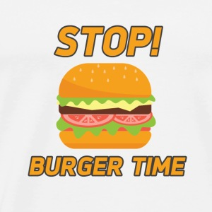 burger time - Men's Premium T-Shirt