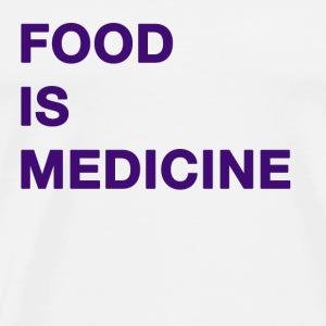 Food is Medicine - Men's Premium T-Shirt