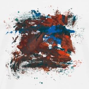 Paint Element 04 - Men's Premium T-Shirt